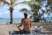 Relaxation sur la plage