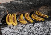 Banannes grillées au chocolat